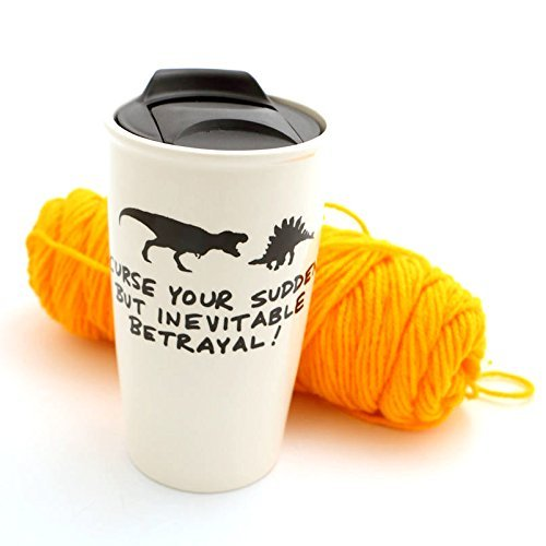 Firefly Inevitable Betrayal Dinosaurs Eco Travel Mug -