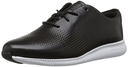 Cole Haan Womens 2.zerogrand Laser Aile Oxford Noir / Blanc Optique