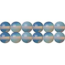 Synthetic Opal Stone Round 10mm Beads for Handmade Necklace Bracelet Earrings Jewelry Beading Supply One Strand 15 Inch Apx 35 Pcs