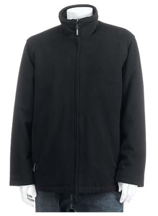 Perry Ellis Portfolio Men's Daniel Convertible Hipster Jacket,Black,Medium