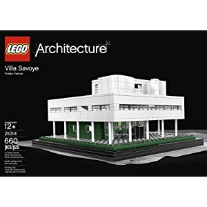 660 Piece, Villa Savoye Model Building Brick Set - 417CHKdnVPL - 660 Piece, Villa Savoye Model Building Brick Set