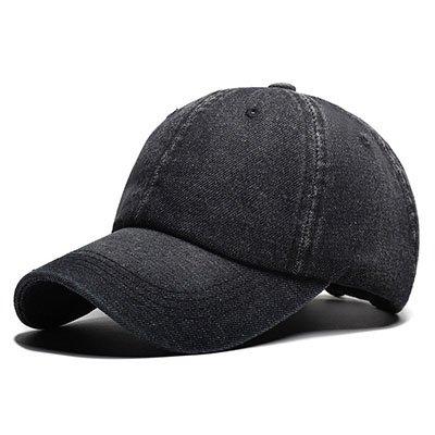 Llxln Berretto da Baseball Cappelli da Cowboy Marca Cappelli per Donne Osso  Nero Vuota 0c7b19438816