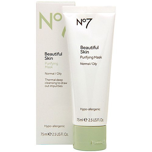 (Boots No7 Beautiful Skin Purifying Mask - Normal / Oily 2.5 oz by Chom)