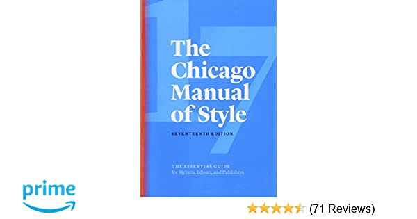 The chicago manual of style 17th edition the university of chicago the chicago manual of style 17th edition the university of chicago press editorial staff 9780226287058 amazon books fandeluxe Images