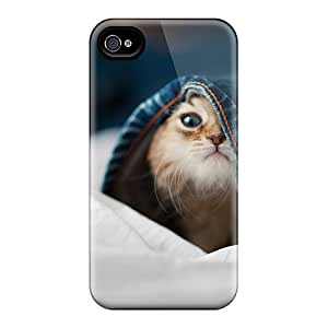 Steptone Fashion Protective Playful Kitty Case Cover For Iphone 4/4s