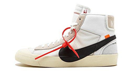Nike The 10 Blazer Mid 'Off-White' - Aa3832-100 - Size 10
