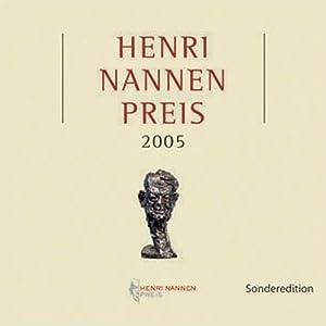 Hennri Nannen Preis 2005 Hörbuch