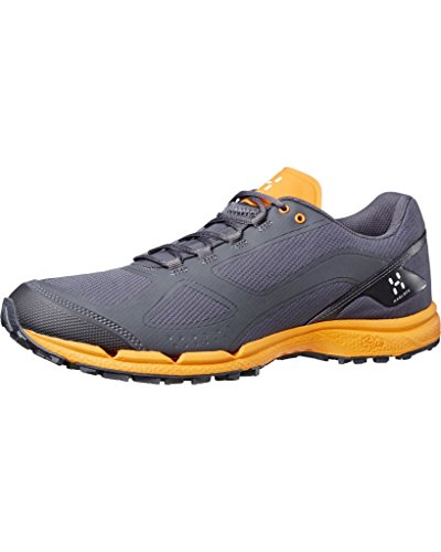 Haglöfs Gram Comp II - Zapatillas para correr - gris/naranja Talla 46 2/3 2017
