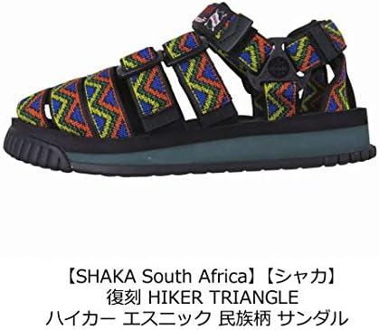 復刻 HIKER AFRICAN TRIANGLE ハイカー 民族柄 サンダル