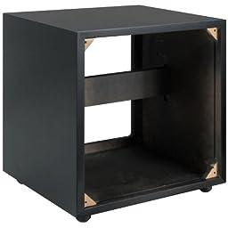 Dayton Audio SWC1-VI 1.0 ft³ Subwoofer Cabinet Black Vinyl