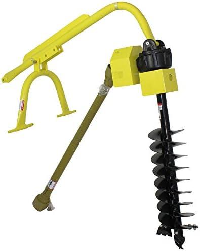 [해외]Titan 60HP HD Steel Fence Posthole Digger w12 Auger 3 Point Tractor Attachment / Titan 60HP HD Steel Fence Posthole Digger w12 Auger 3 Point Tractor Attachment