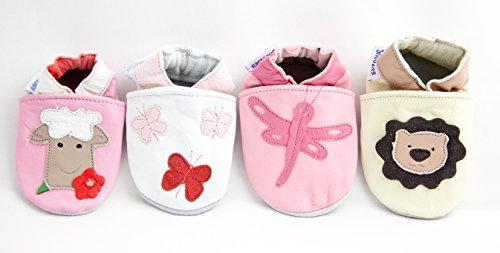 Shoozies , Baby Jungen Lauflernschuhe beige braun 18-24 Monate
