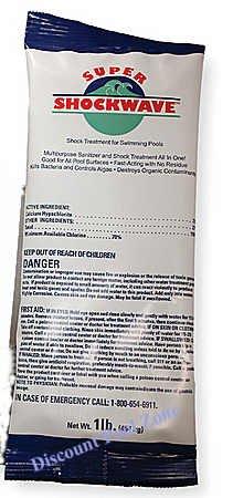 Shockwave CAl-HYPO 73% Chlorine Pool ()