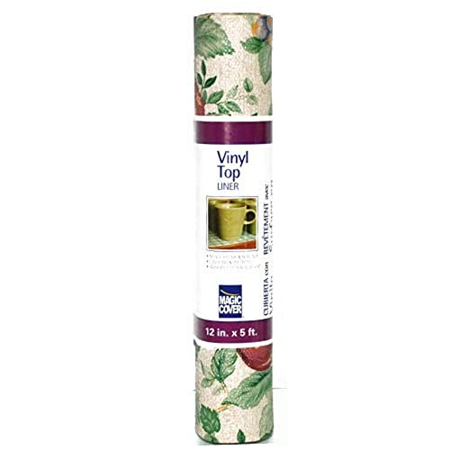 Magic Cover Vinyl Top Contact Liner for Drawer, Shelf and Arts and Craft Projects - Sonoma - 12''x5'