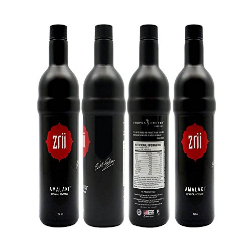 Pack Of 4 Zrii Limited Edition Bottle Botanical Mix Juice 25 fl.oz. with Bill Farley Signature (Founder Of Zrii)(The Original Amalaki)