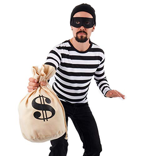 Men's Burglar Costume Kit (Large) -