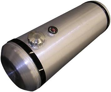 10x36 Center Fill Spun Aluminum Gas Tank with Sender Flange 12 Gallons Sandrail
