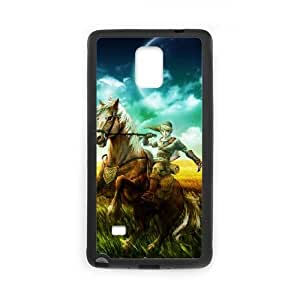 Legend of Zelda Samsung Galaxy Note 4 Cell Phone Case Black yyfabd-229336