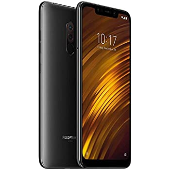 Amazon.com: Xiaomi Pocophone F1 128GB Graphite Black, Dual ...