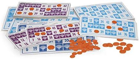 Chicos-Bingo Lotería electrónica con 24 cartones y 90 bolas imborrables, 22.5 x 37 x 10.5 cm, incluye fichas de juego, (22302) , color/modelo surtido: Amazon.es: Juguetes y juegos