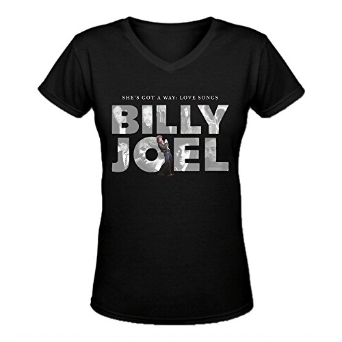 Bunny Angle Billy Joel She's Got A Way Love Songs Funny ladies V-Neck T Shirts - Hawaii Club Girls Bad