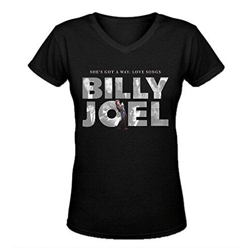 Bunny Angle Billy Joel She's Got A Way Love Songs Funny ladies V-Neck T Shirts - Club Hawaii Girls Bad