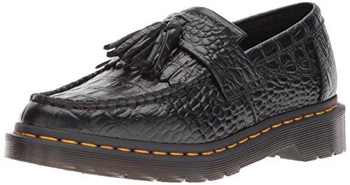 Negro Dr deslizamiento Adrian de borla Zapatillas Negro con Martens para mujer Croc pv4q8wnC