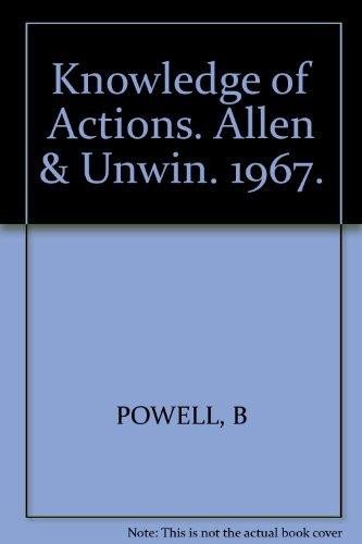 Knowledge of Actions. Allen & Unwin. 1967.