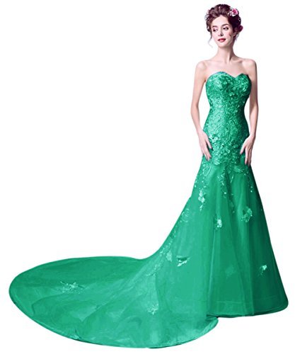 Mujer Vimans Vestido Verde Para Trapecio 46 tP8PwqUx