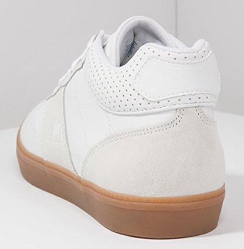 Troca per Coq in Le in basse con pelle Sneakers Sportif suola bianca gomma uomo da TBBqY
