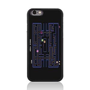 Call Candy Retro para videojuegos Pac Man acabado satinado diseño de 2D con tapa para Apple iPhone 6
