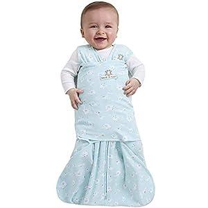 HALO 100% Cotton Sleepsack Swaddle, Turquoise Animal Friends, Small
