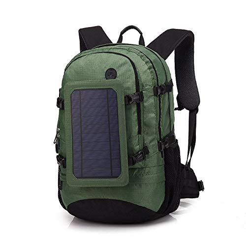 KEROUSIDEN Solar Backpack Fashion Casual Business Backpack USB Interface Charging Outdoor Travel Bag 302254Cm