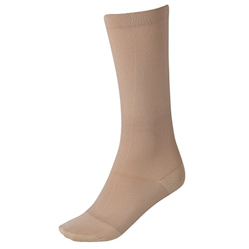 Women's Support Plus Moderate Compression Trouser Socks - Beige - Small ()