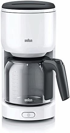 Braun KF3120WH - Cafetera, color blanco, 1000 W: Amazon.es: Hogar