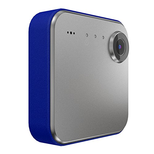 iON Camera SnapCam Wearable HD Camera with Wi-Fi and Bluetooth (Silver)