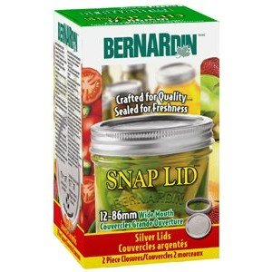 Bernardin Mason Jar Lids & Screw Bands - Wide