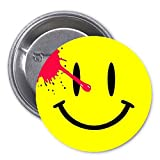 Watchmen Smiley Pinback Button Pin Fan