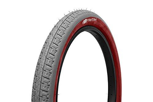 GT Bikes lp-5 BMX自転車タイヤ – 20 inグレーWレッド – 20 x 2.2 in )