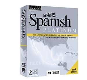 Instant Immersion Spanish Platinum