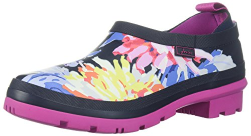 cheap new online shop from china Joules Women's Popons Rain Shoe Navy Whitstable Floral LlQ06wcMU