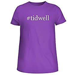 Tidwell Cute Womens Junior Graphic Tee Purple Xx Large