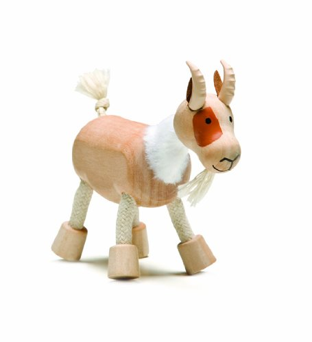 Anamalz Farm Goat Wooden Toy -