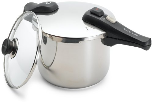 Chef's Design 9-Quart Stainless Steel Pressure Cooker by Chef's Design