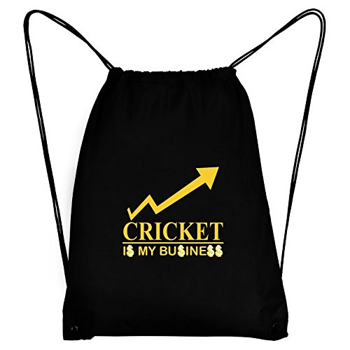 Teeburon Cricket IS MY BUSINESS Sport Bag by Teeburon