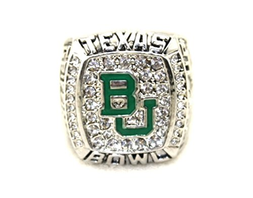 for YIYICOOL fans' collection 2005 World University League the NCAA Baylor Bears championship ring size 11