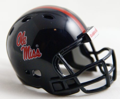 OLE MISS REBELS Riddell Revolution POCKET PRO Mini Football Helmet MISSISSIPPI