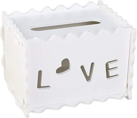 HEELPPO Caja para pañuelos de Papel Caja de pañuelos Caja de pañuelos Cubre rectángulo Soporte de Caja de pañuelos Caja de pañuelos Cubre Cubo Tejido Caja 5: Amazon.es: Hogar