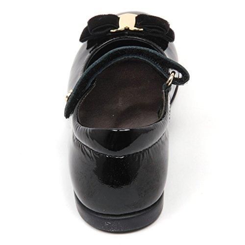 Girl Scarpa Nero Kid Nero Ballerina Shoe Bimba C2710 Naturino q0PtzUw