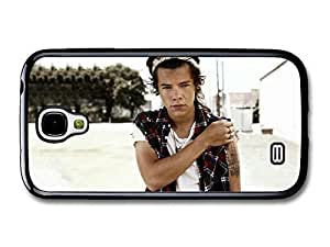 AMAF ? Accessories Harry Styles One Direction 1D Posing case for Samsung Galaxy S4 Kimberly Kurzendoerfer